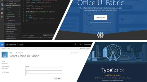 Office Ui Fabric React by Development With React Office Ui Fabric And Typescript