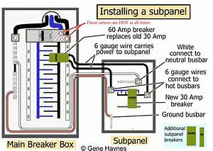 Collection Of Square D Breaker Box Wiring Diagram Sample
