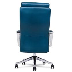 adjustable ergonomic draper leather executive chair with
