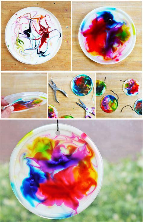 Art For Kids Cosmic Suncatchers  Babble Dabble Do