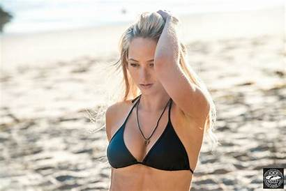 Bikini Pretty Swimsuit California Beach Woman Sand