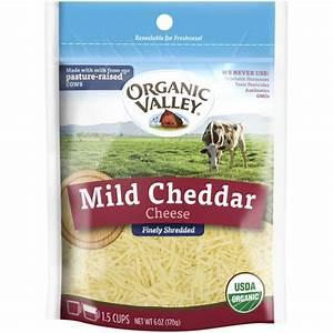Organic Mild Cheddar Cheese Shredded from Organic Valley ...