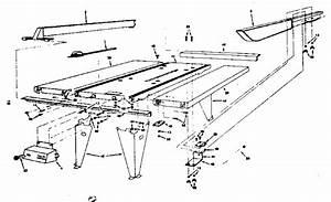 Craftsman Craftsman Deluxe Circular Saw Table Parts