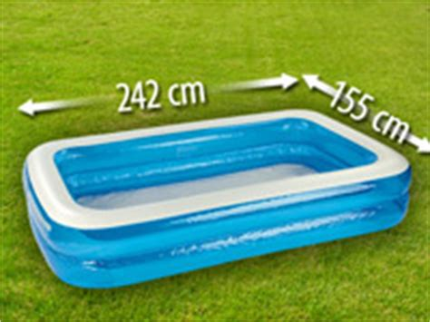 Kleiner Aufblasbarer Pool by Speeron Jumbo Planschbecken Aufblasbarer Pool