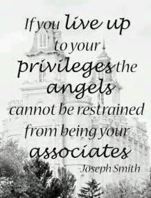 Joseph Smith Quotes About Angels