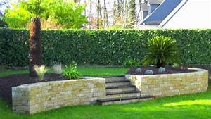 awesome amenager son jardin en pente photos With amenagement exterieur maison terrain en pente 14 conseils amenagement terrain talus chambery