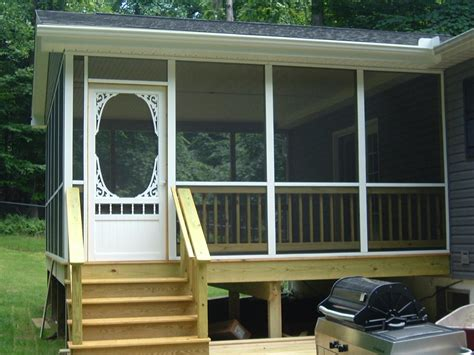 Screened In Porch Decorating Ideas And Photos by How To Screen A Porch Screened Porch Photos Photos Of