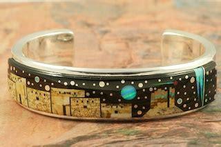 calvin begay bracelet treasures   southwest