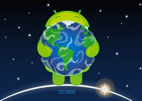 earth android celebrate earth day with this android inspired wallpaper