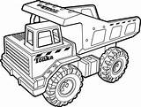 Coloring Truck Pages Tonka Printable Monster Dump Drawing Sheets Tractor Colouring Drawings Procoloring Train Books sketch template