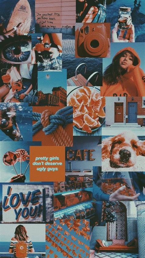 Aesthetic Orange Wallpaper Laptop by Blue And Orange Aesthetic Everything Artsy In 2019