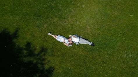 Aerial engagement photos with drone. - Duluth, MN Wedding ...