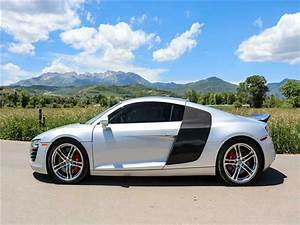 2009 Supercharged Audi R8 With A 6 Speed Manual For Sale