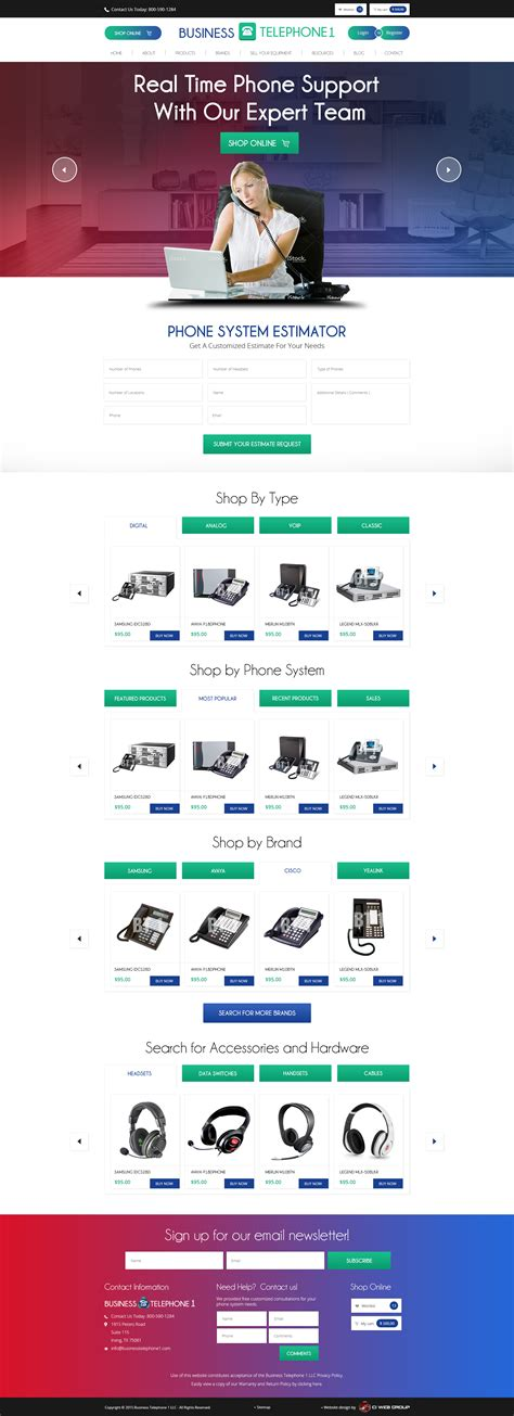 ecommerce website design company ecommerce website design business telephone systems 1