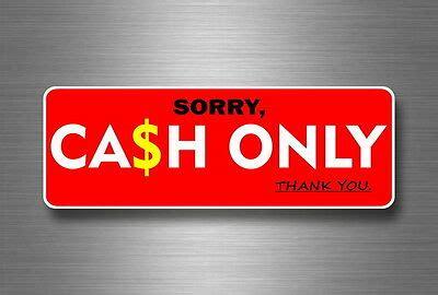 sticker  cash  money shop  size payment food