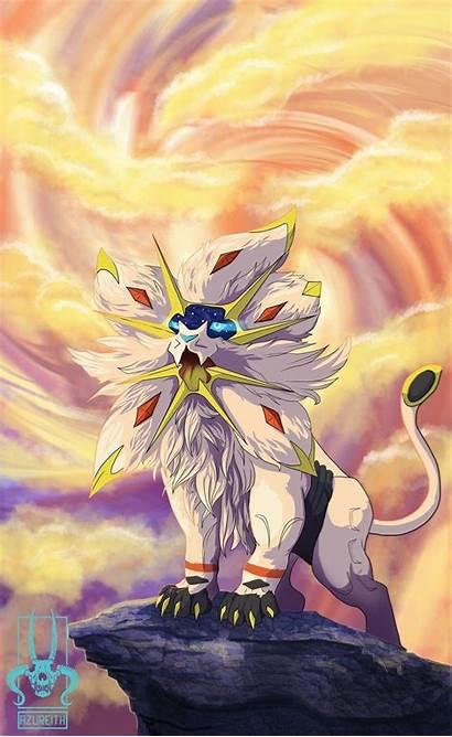 Solgaleo Pokemon Deviantart Sun Moon Wallpapers Fan
