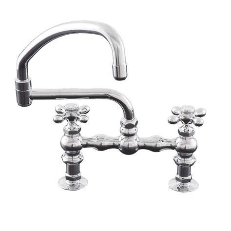 kitchen pot filler faucets deck mount kitchen faucet with swivel pot filler spout