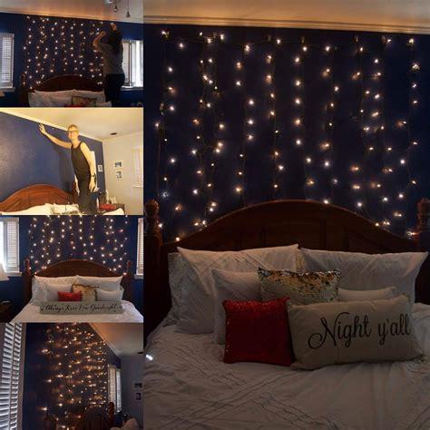 curtain lights white bulbs green wire  feet tall