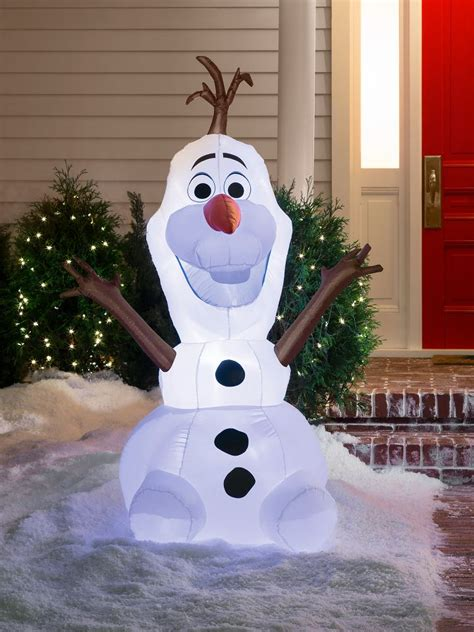 mickey minnie with snowman outdoor decoration mickey outdoor decorations www indiepedia org