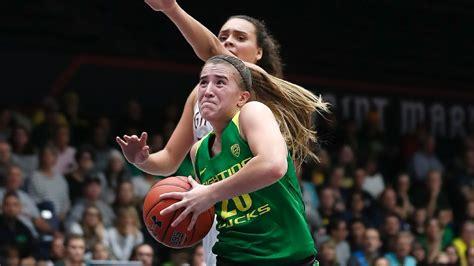 espnws basketball player   week oregons sabrina ionescu