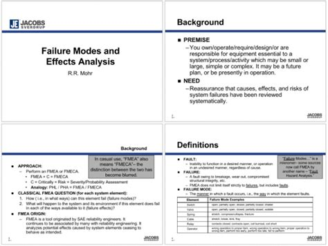 fmea examples  excel powerpoint