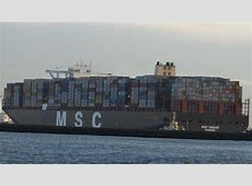 MSC Oscar, world's largest container ship 19,224 TEU in