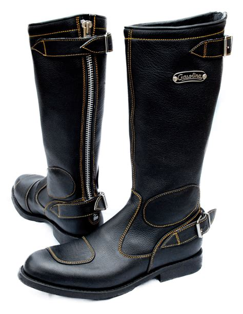 best motorbike boots gasolina classic motorcycle boots