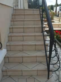 Escalier Carrelage Exterieur by Les Escaliers Ext 233 Rieurs Sarl Papin Alainsarl Papin Alain