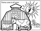 Coloring Pages Ranch Farm Getcolorings Printable sketch template
