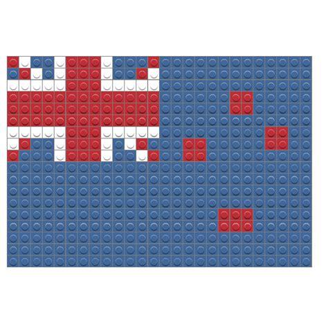 flag of new zealand brik