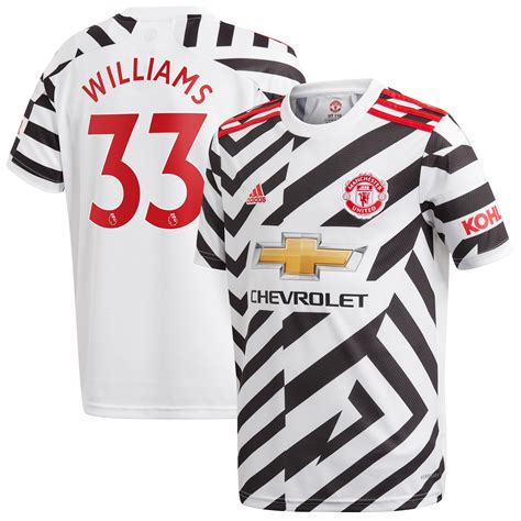 Brandon Williams Manchester United adidas Youth 2020/21 ...