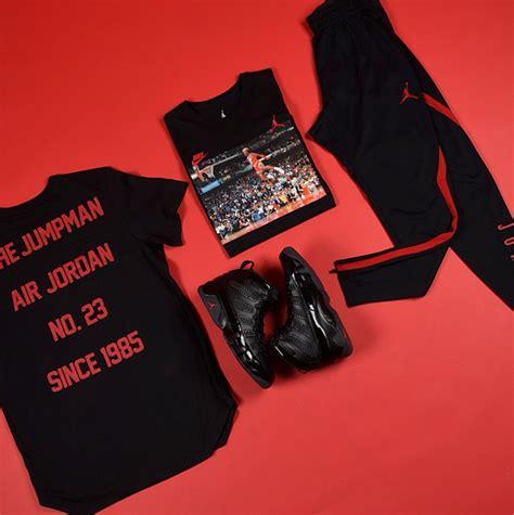 Air Jordan 9 Bred Matching Tees and Pants | SneakerFits.com