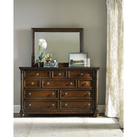 Kommode Spiegel by Furniture Leesburg Dresser With Ten Drawers And