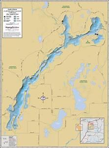 Lake Owen Wall Map