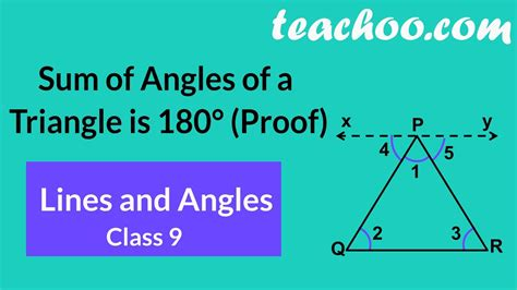 sum  angles   triangle   proof theorem