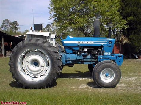 Tractordatacom Ford 7600 Tractor Photos Information