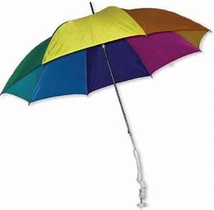 Sonnenschirm regenbogen fur balkon und camping ebay for Französischer balkon mit sonnenschirm camping