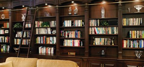 Design A Striking Home Library