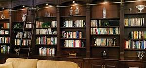 Design, A, Striking, Home, Library