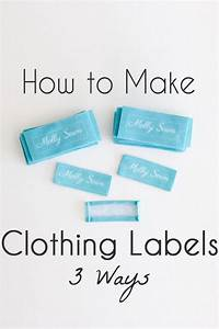 how to make clothing tags 3 options melly sews With how to make woven labels