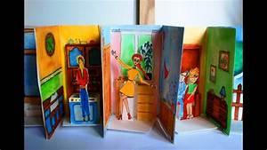 Haus Aus Pappe Basteln : einfaches papier puppenhaus basteln youtube ~ A.2002-acura-tl-radio.info Haus und Dekorationen