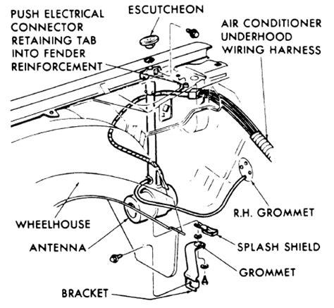 repair guides exterior power antenna autozone
