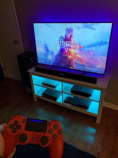 Do keep in mind that the right accessories will vary from gamer to gamer. Pin by A on -room ideas- | Video game rooms, Video game room, Video games ps4