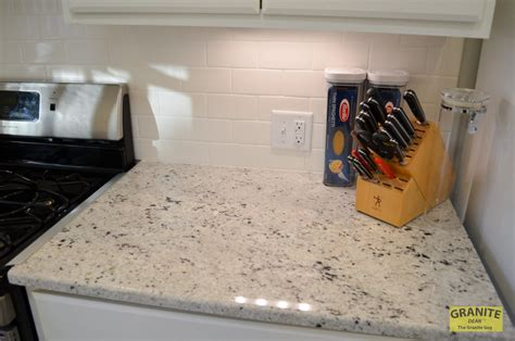 cotton white granite kitchen counter upgrades kansas city mo dean  granite guy