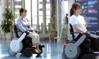 Panasonic Chairs Uk by Panasonic Testing Self Driving Wheelchairs In Airport