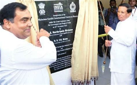 Maybe you would like to learn more about one of these? Sri Lanka opens international centre dedicated to Mahatma Gandhi: Read to know more - Education ...