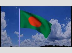 National Flag of Bangladesh created with Blender 276