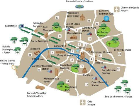 Carte Touristique Centre by Plan Touristique Carte Touristique