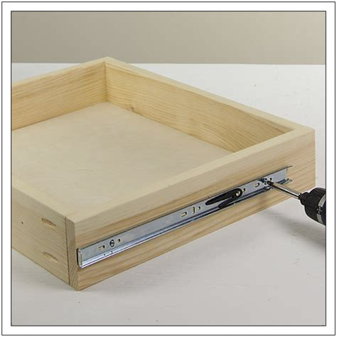 install drawer  step  copy diy drawers