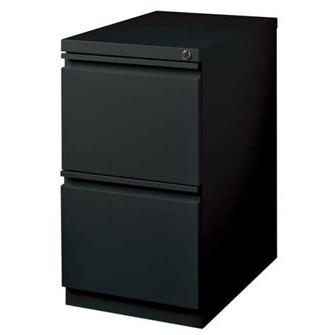 black filing cabinet 2 drawer mobile file cabinet file in black 18578